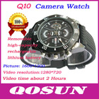 Removable Battery and memory card, hidden HD 1280*720 video cameras watch