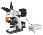 New Five waveband (B,G,BV,U,V) lab bilological fluorescence microscope