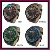 2012 New coming alloy watch with fabric watch straps