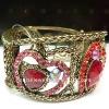 2011 Fashion metal shamballa bracelet designs for women