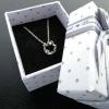Gray small dot jewelry box