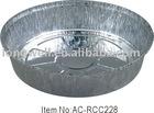 Round Aluminium Foil container AC-RCC228