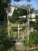 2011 new metal garden arch