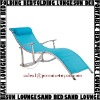 Teslin mesh folding aluminum beach Lounger PAL210