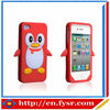 animal shape silicone cases for iphone/silicone phone case