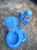 Pet Waterer and feeder set, Animal Water Apparatus and feeder