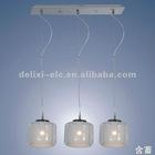Delixi galss modern pendant lamp