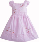 New style girls' dress in competitive price
