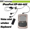 iPazzPort Mini Voice Wireless Keyboard Mouse Multi-Touchpad with Speaker and Microphone+Retail Box KP-810-05V