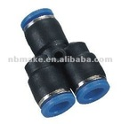 PY series pneumatic quick connect tube fitting/Plastic air tube fitting
