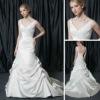 2013 Chapel Train Taffeta wedding party dresses