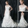 2013 Chapel Train Taffeta wedding party dresses