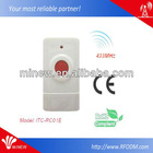 Wireless Professional Digital Technologies with long working range Emergency Button remote control for hotel