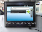 9 inch Headrest PC Android 2.3.5 system and Support WI-FI and 3G Function with Touch Screen