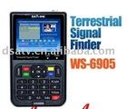 2011 TERRESTRIAL Signal meter finder satlink DVB-T finder meter TERRESTRIAL SIGNAL FINDER (DVB-T) WS 6905