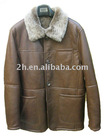 shearling leather coats HN001