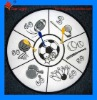 safety magic ball dartboard game for kids