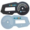new design customized 2D PC material automobile meter dial