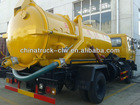 FAMOUS Dongfeng 145 Sewage sucking Truck