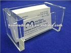 Vertical Acrylic Business Card Holder-Single Pocket