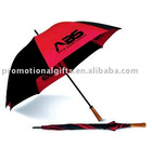 multi color golf umbrella with logo
