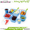 100% Food Grade silicone microwave food container