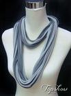 viscose colorful string scarves