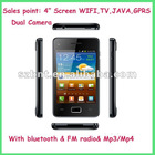 factory price Android v2.3.6 WIFI+TV+bluetooth+carmera cell phone