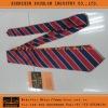 Blue/Red Striped Silk Tie