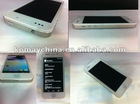 "2012 New arrival Hero H2000+ 3G Android4.0 5gs phone 5 Smartphone: 4.0"" Screen, MTK6577,8.0MP mobile phone"