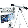 100x telescope 900x microscope together in a box;optical glass lens;Educational toys;Gifts for kids