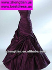 BLACK CADBURY PURPLE WHITE OR RED WEDDING DRESS GOTH 6 8 10 12 14 16 18 20 22 UK