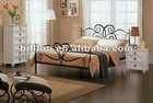 china manufacturer facory producer queen double metal bed frames design
