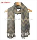 fashion design shawl scarf breaker jacquard