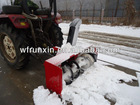 PTO driven snow blower with 25-55hp tractor