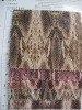 Raw cotton material for handbag/shoes,Snake design,fashion prints