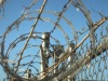 china canton fair barbed wire mesh fence