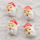 2012 new high quality resin Santa Claus christmas flat ornaments