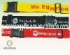 cheap travel silkscreen luggage belts,promotional gift items