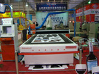 Flated bed cutter with i -cut software and system