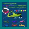 7 colors Swing Car, Ride on Toy with PU Lighted wheels (LT-F509)