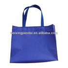 420D purple nylon large foldable reusable shopping bag with custom size and logo