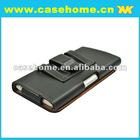 New design! leather case with back splint for iphone 5g