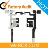 Earphone Jack Flex Cable For iPhone 4S - White