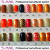 2013 newest pre-designed velvet nail tips wholesale