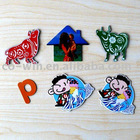 Fridge magnet sticker with customize shape