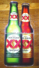Dos Equis bottle acrylic sign