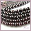 garnet natural stone jewelry beads