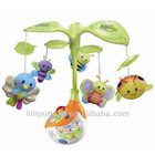 infant placating music bee rotating rattle
