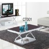 glass and metal italian design modern coffee table